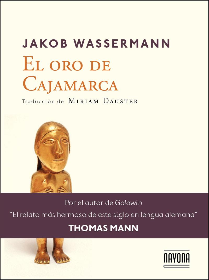 EL ORO DE CAJAMARCA: portada