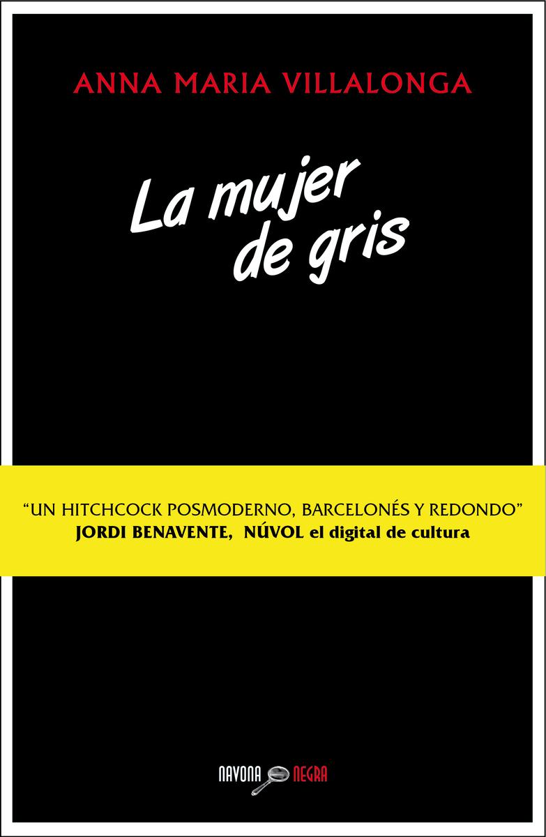 LA MUJER DE GRIS: portada