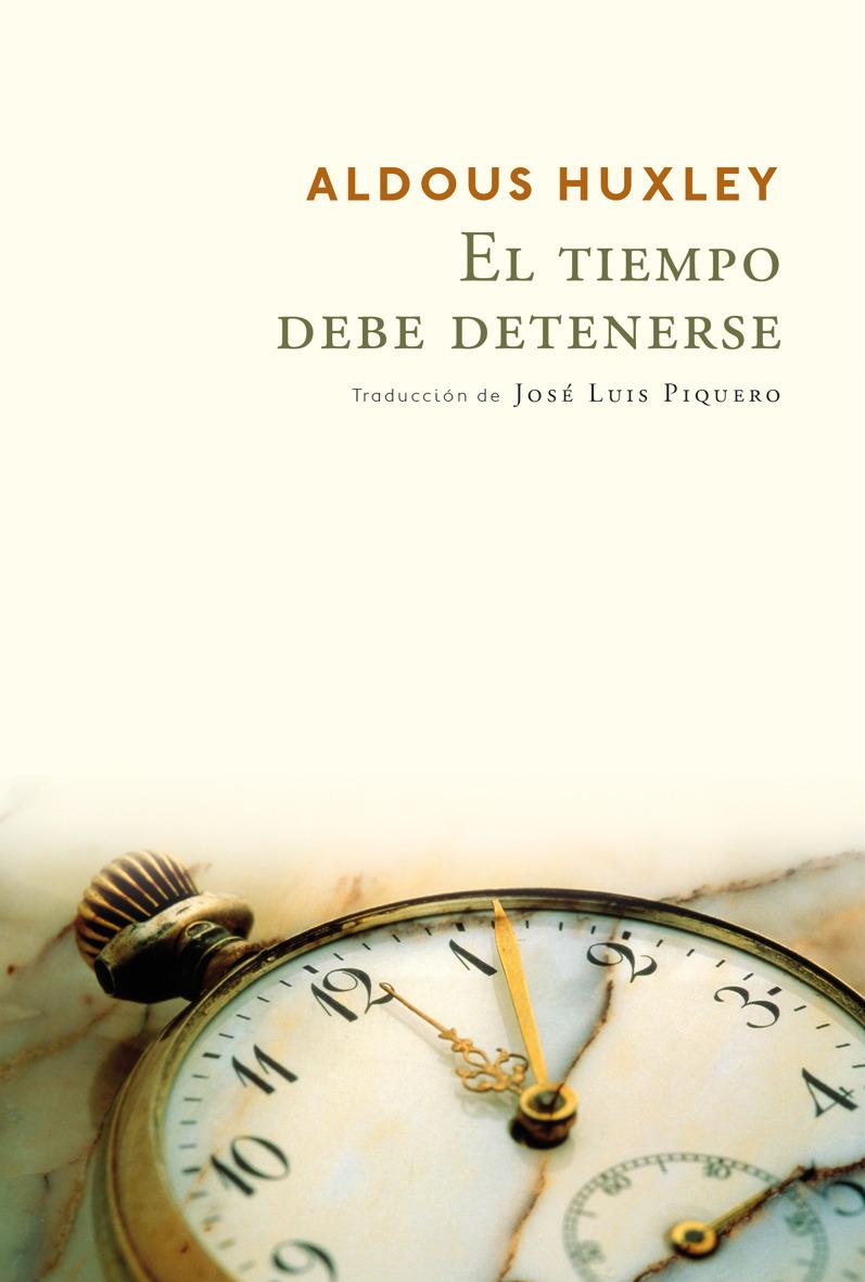 EL TIEMPO DEBE DETENERSE: portada