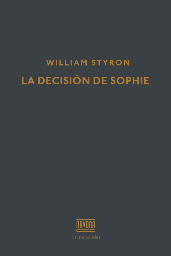 La decisión de Sophie: portada