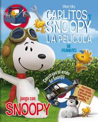 JUEGA CON SNOOPY -  Carlitos y Snoopy: portada