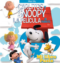 MI LIBRO PUZLE - Carlitos y Snoopy: portada