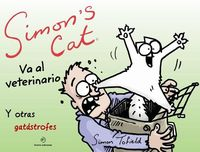Simon's Cat va al veterinario: portada