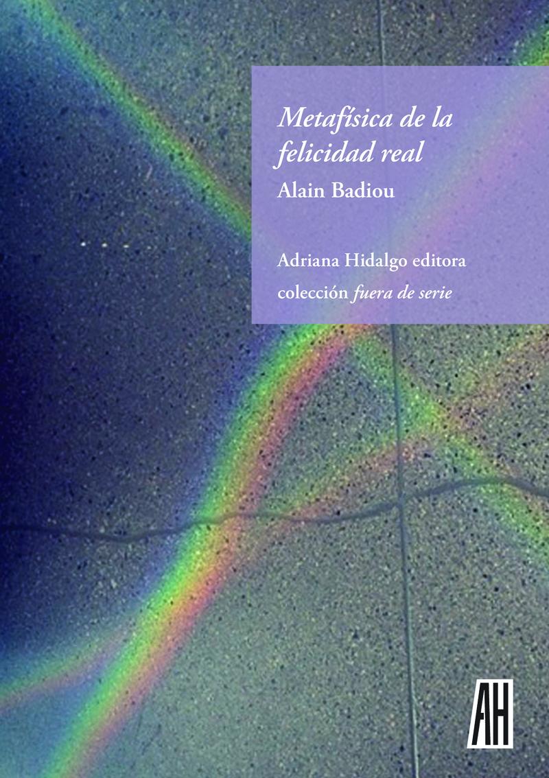 METAFÍSICA DE LA FELICIDAD REAL: portada