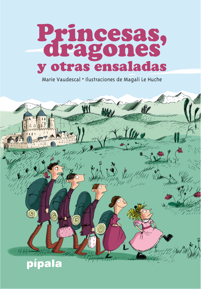 Princesas, dragones y otras ensaladas: portada