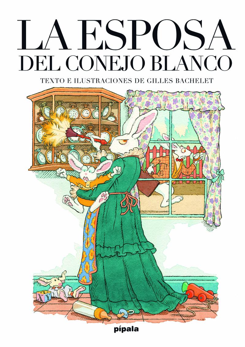 LA ESPOSA DEL CONEJO BLANCO: portada