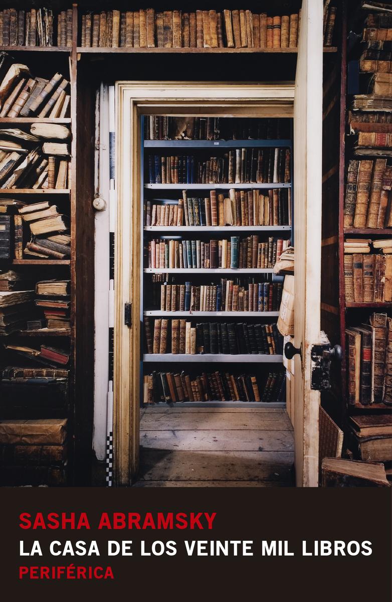 La casa de los veinte mil libros: portada