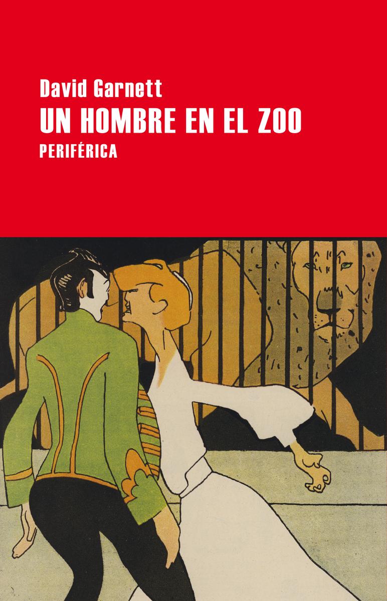 Un hombre en el zoo: portada