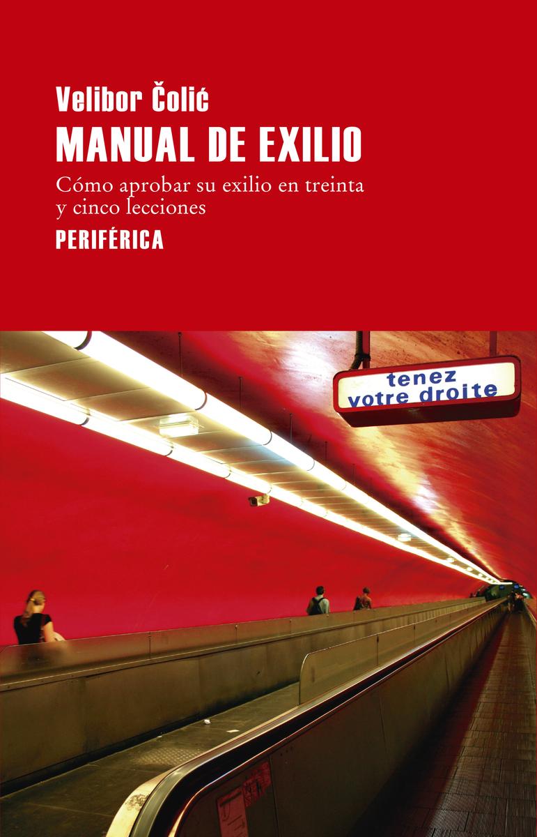 Manual del exilio: portada