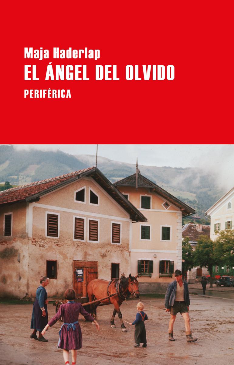 El ángel del olvido: portada