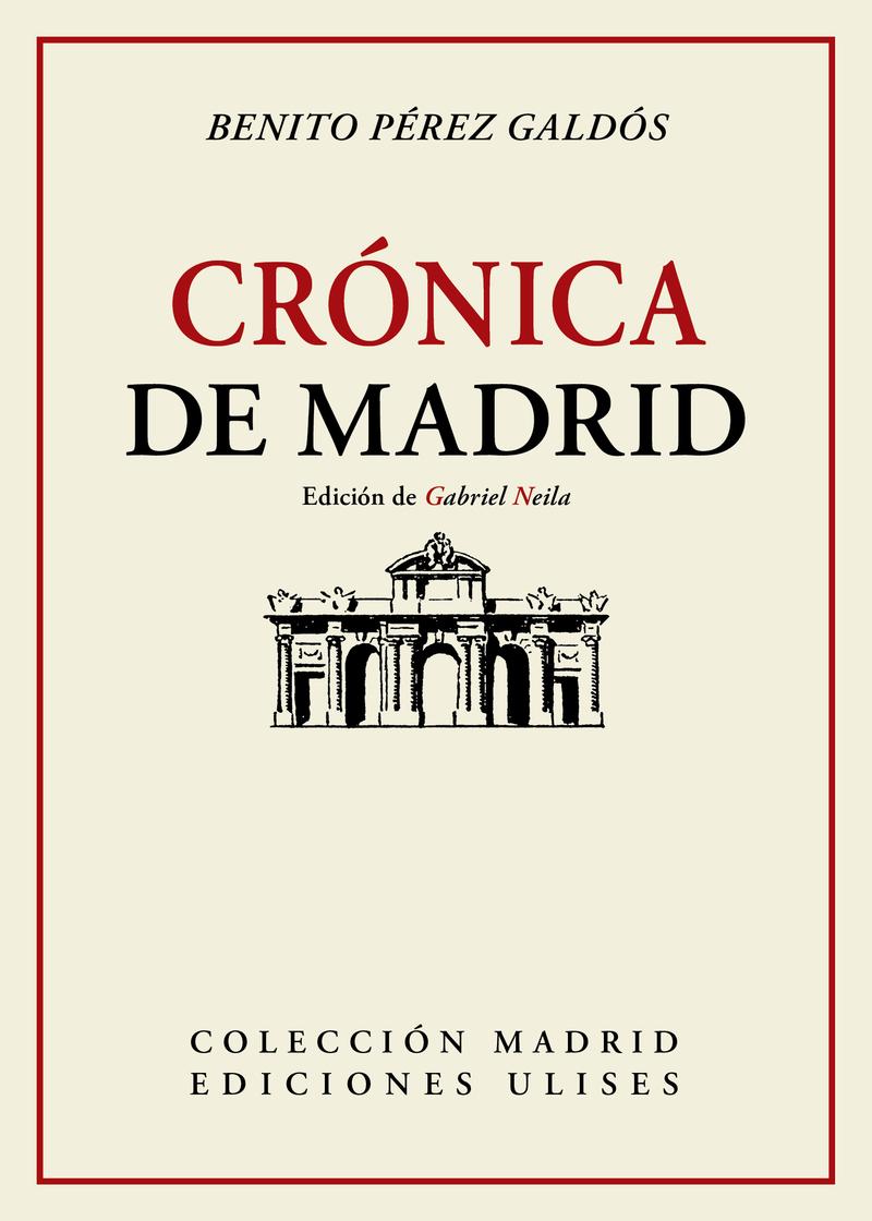 Crónica de Madrid: portada