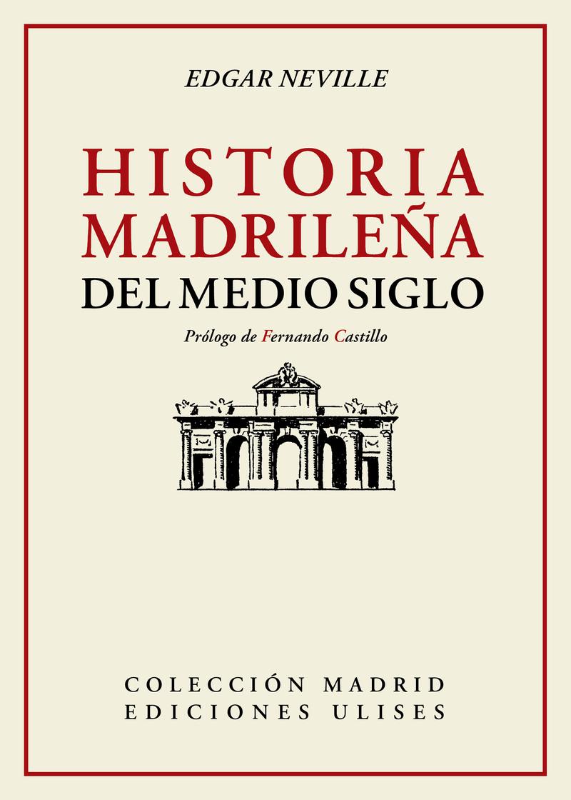Historia madrileña del medio siglo: portada