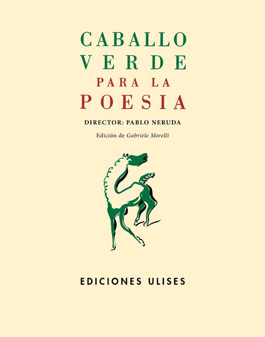 Caballo verde para la poesía: portada