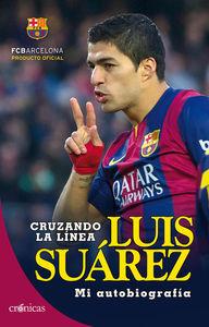 Luis Suárez. Cruzando la línea: portada