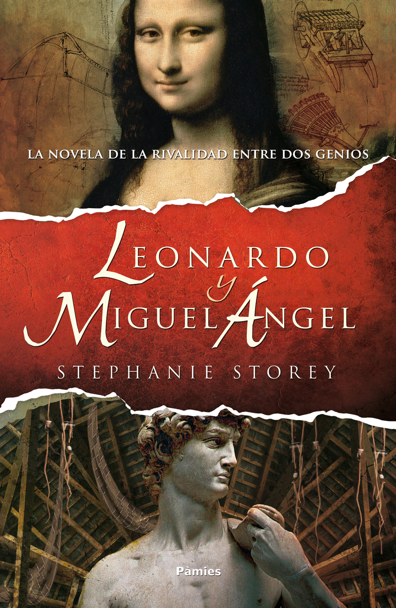 Leonardo y Miguel Ángel: portada
