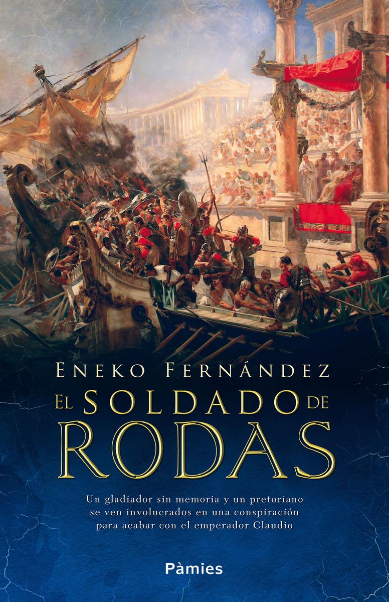 El soldado de Rodas: portada