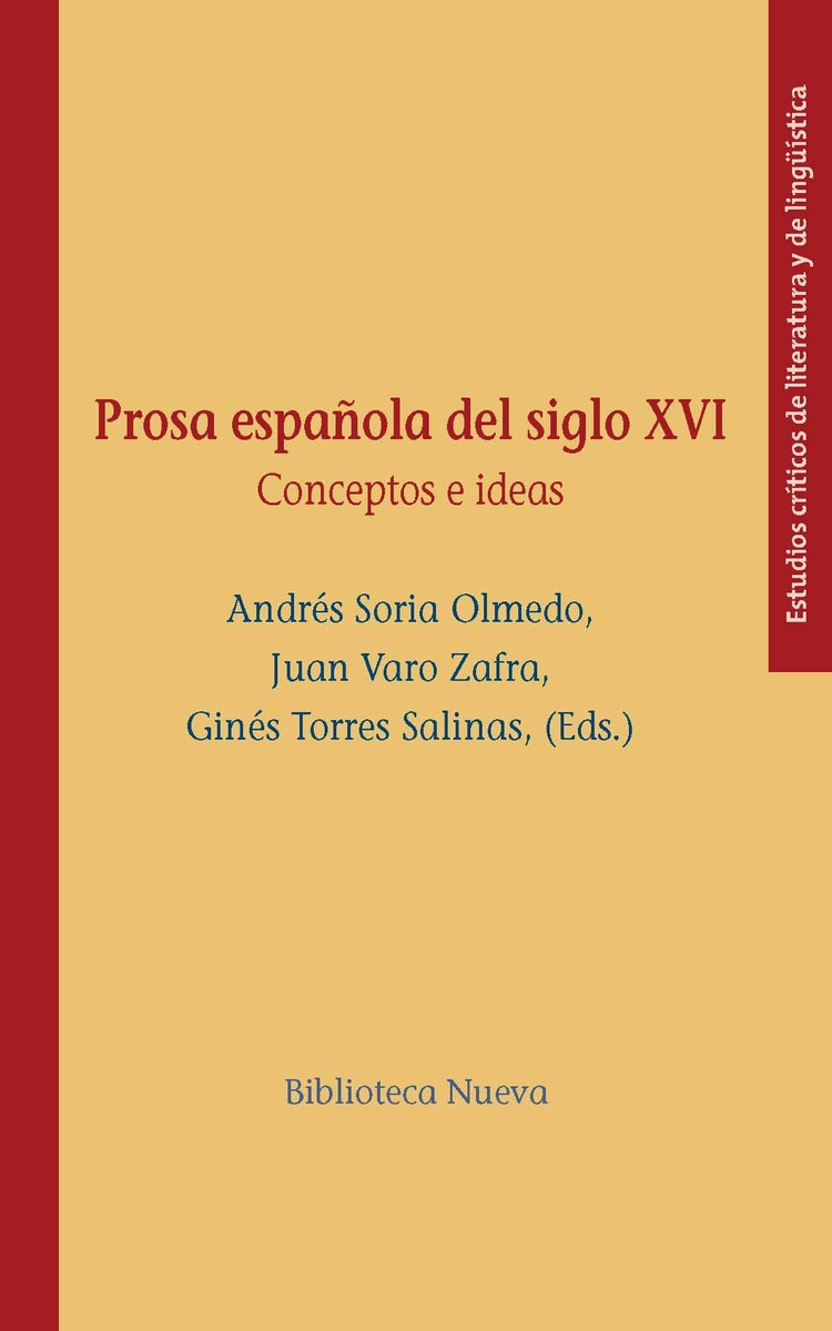 PROSA ESPAÑOLA DEL SIGLO XVI: portada