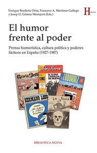 EL HUMOR FRENTE AL PODER: portada