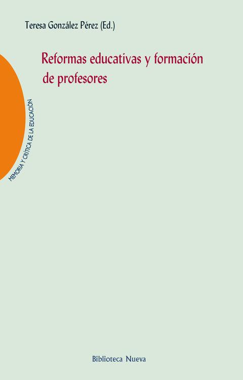 REFORMAS EDUCATIVAS Y FORMACIÓN DE PROFESORES: portada