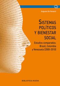 SISTEMAS POLÍTICOS Y BIENESTAR SOCIAL: portada