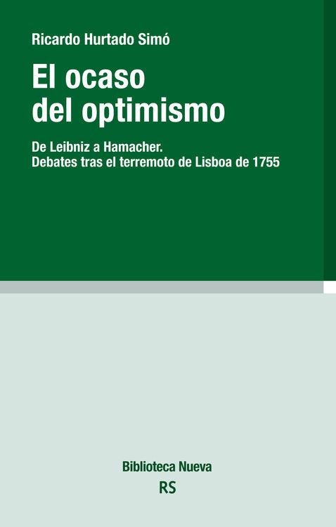 EL OCASO DEL OPTIMISMO: portada