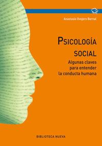 PSICOLOGIA SOCIAL. ALGUNAS CLAVES PARA ENTENDER LA CONDUCTA : portada