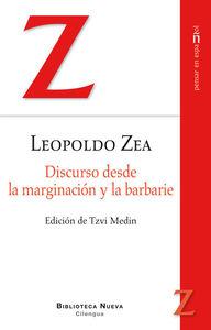 DISCURSO DESDE LA MARGINACION Y LA BARBARIE: portada