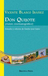 DON QUIJOTE (GUIÓN CINEMATOGRÁFICO): portada