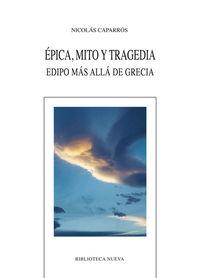 ÉPICA, MITO Y TRAGEDIA: portada