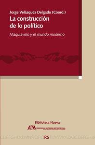 LA CONSTRUCCIÓN DE LO POLÍTICO: portada