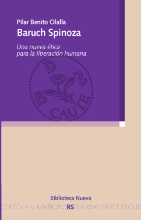 BARUCH SPINOZA: portada