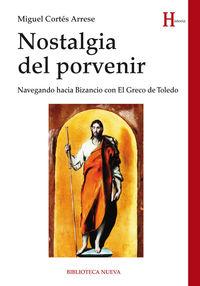NOSTALGIA DEL PORVENIR: portada