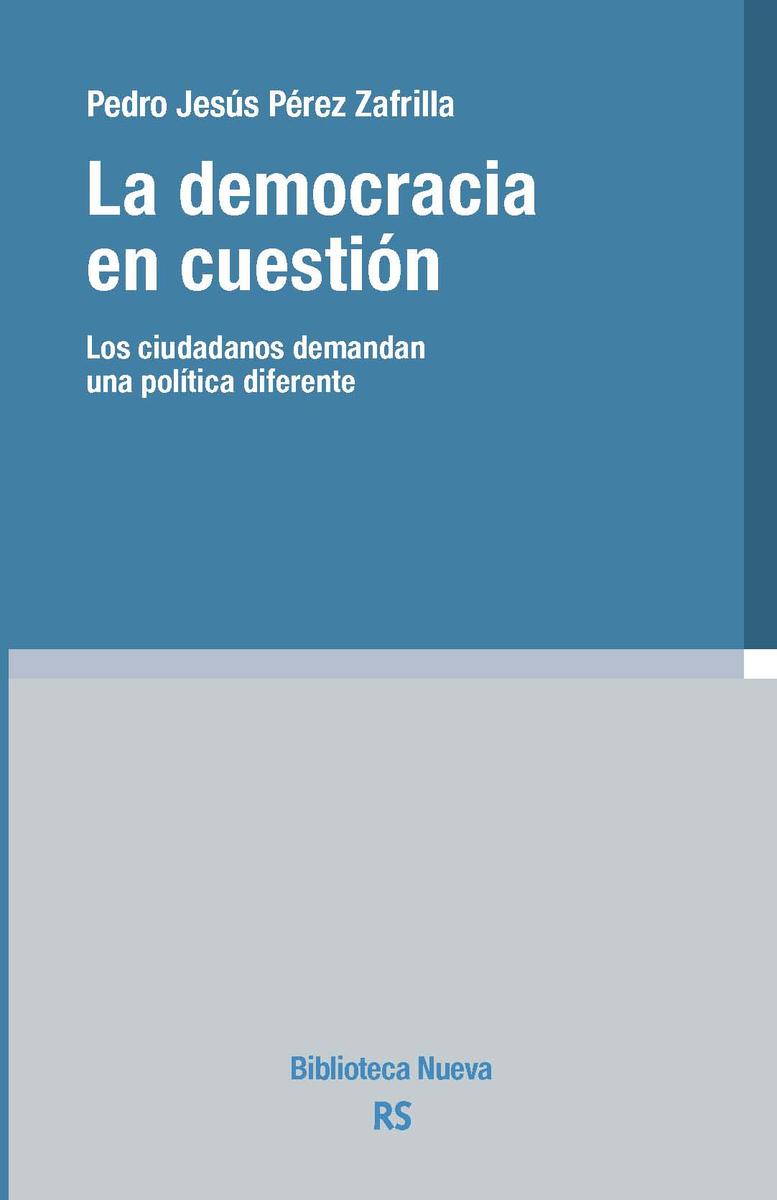 DEMOCRACIA EN CUESTIÓN, LA: portada
