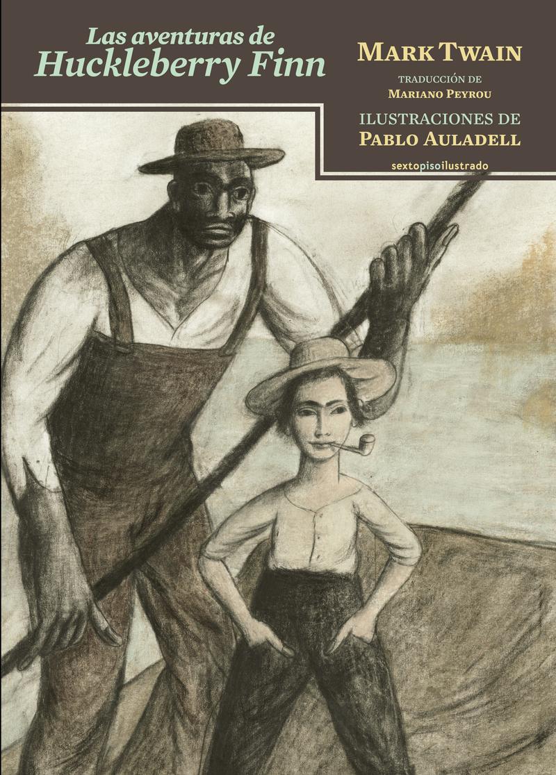 Las aventuras de Huckleberry Finn: portada