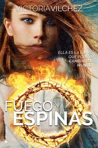 FUEGO Y ESPINAS: portada