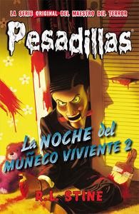 PESADILLAS 10 - La noche del muñeco viviente 2: portada