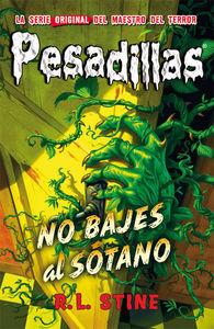 PESADILLAS 12 - No bajes al s�tano: portada