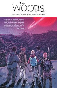 The woods 1: La flecha: portada