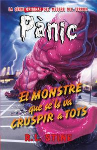 Pánic 11: El monstre que se'ls va cruspir a tots: portada