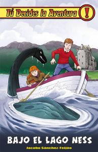Bajo el lago Ness: portada