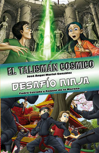 Edición especial El talismán cósmico / Desafío ninja: portada