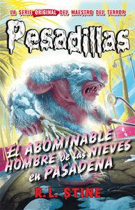 Pesadillas 13-El abominable hombre de las nieves en Pasadena: portada
