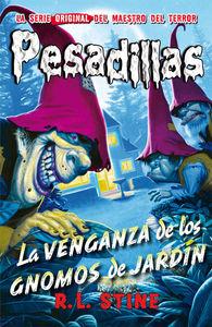 Pesadillas - 14 La venganza de los gnomos de jardín: portada
