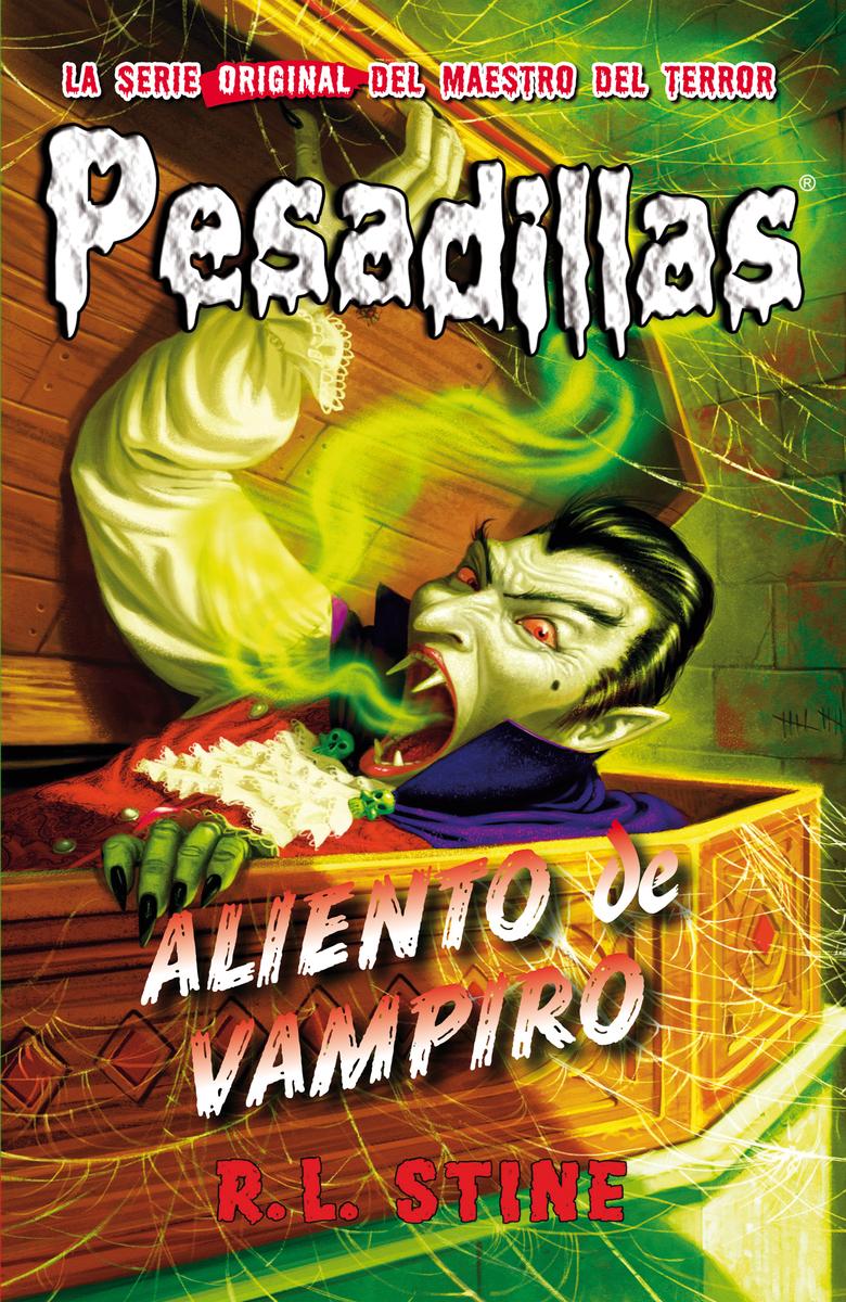 Aliento de vampiro: portada