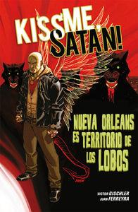 Kiss me, Satan: portada