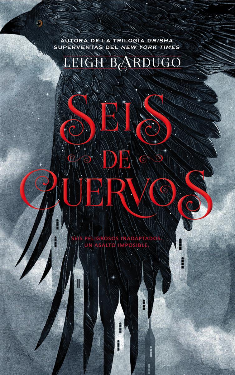 Resultado de imagen de portada seis de cuervos