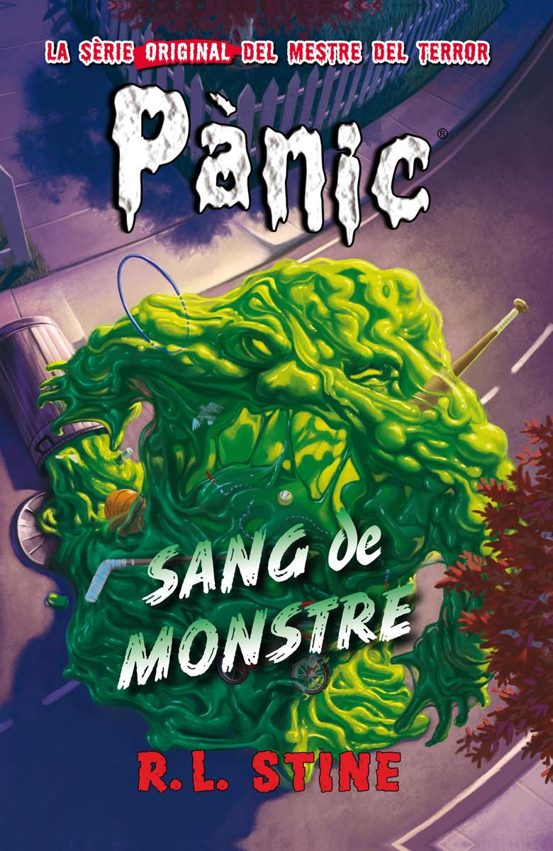 Pànic 15: Sang de monstre: portada