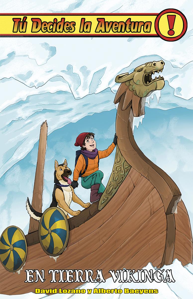 En tierra vikinga: portada