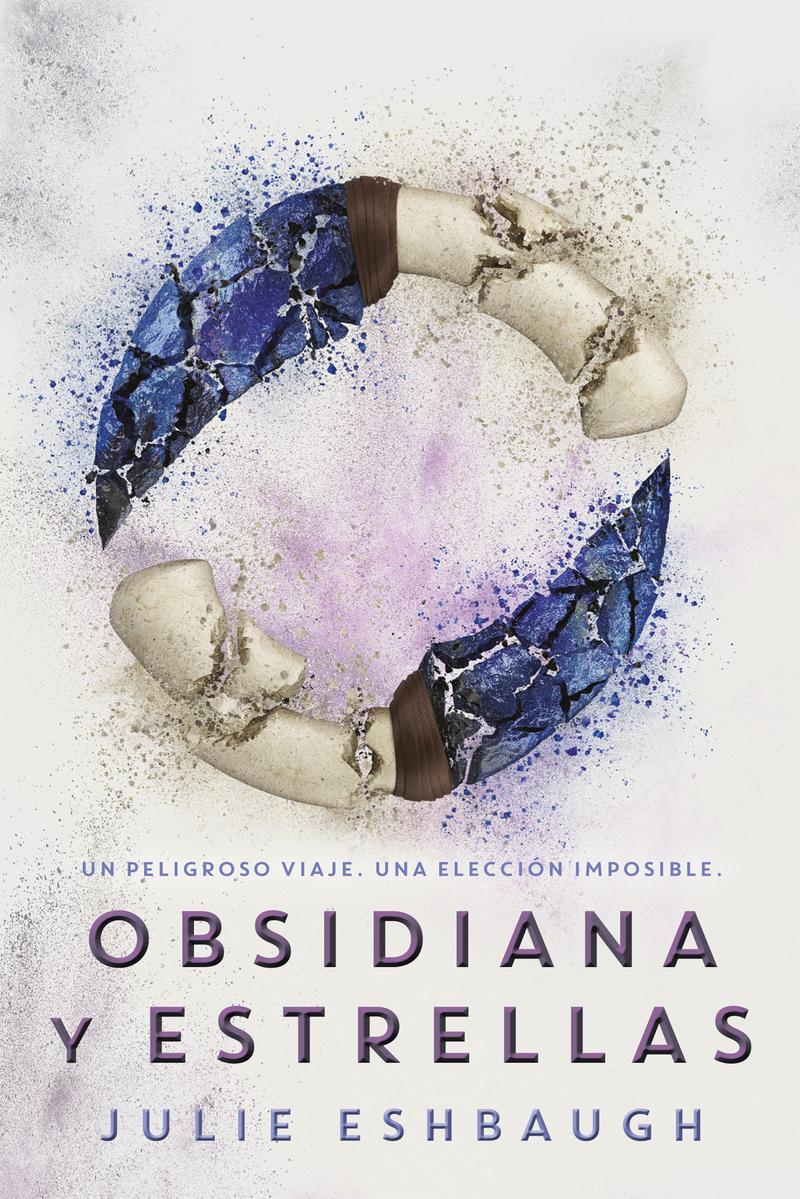 Obsidiana y estrellas: portada