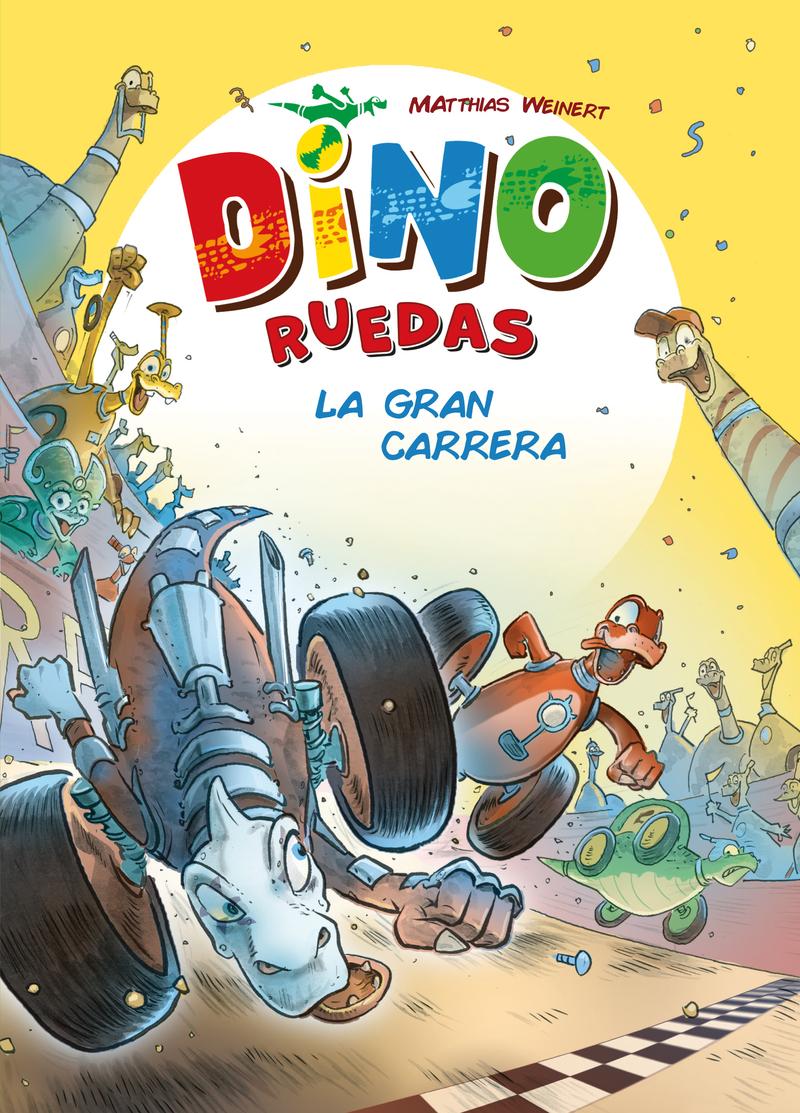 Dino Ruedas 2: La gran carrera: portada